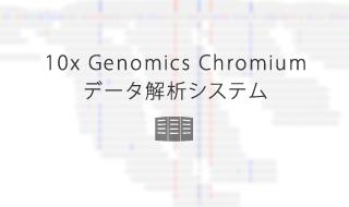 10x Genomics Chromiumデータ解析システム